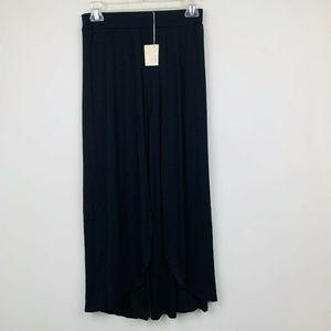 Good Luck Gem Harem Pant S Black Crop Womens Size